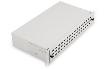 Digitus Fiber Optic Sliding Splice Box, 2U 483 mm (19