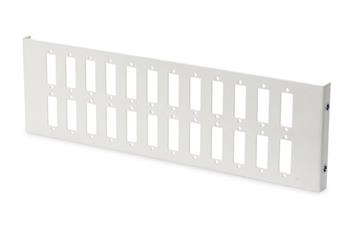 Digitus 24x SC/DX vertical adapter plate for DN-96800M color grey (RAL 7035)