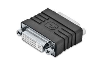 Digitus DVI adapter, DVI(24+5) F/F, DVI-I dual link, bl