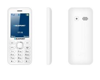 Blaupunkt FM 02 White/2.4´´/SD/2xSIM/0,3MPx/800mAh