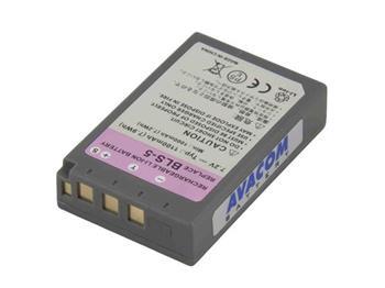 Avacom náhradní baterie Olympus BLS-5 Li-ion 7.2V 1100mAh 7.9Wh