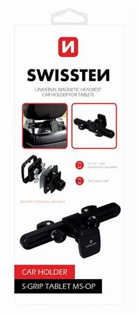SWISSTEN MAGNETIC CAR HOLDER FOR TABLET S-GRIP M5-OP