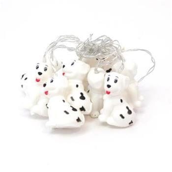 PLATINET bavlněné LED dekorační koule - pes