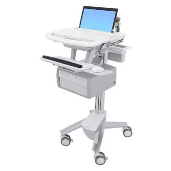 ERGOTRON StyleView® Laptop Cart, 2 Tall Drawers (2x1), vozík, pc, monitor, šuplík