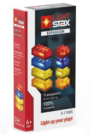 LIGHT STAX svítící stavebnice Expansion (RBYO) - LEGO® - kompatibilní
