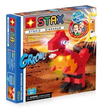 STAX hybrid stavebnice Growling Dinosaur - LEGO® - kompatibilní
