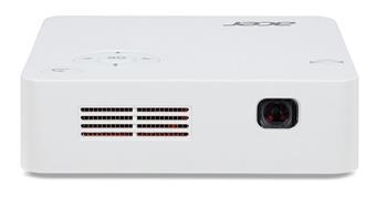 Acer C202i LED, WVGA (854x480), 300 ANSI, 5000:1,HDMI, repro 1x1W, WiFi, 0.35kg, zabudovaná baterie