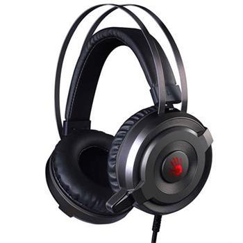 A4tech Bloody G520 herní sluchátka s mikrofonem 7.1., USB, 7 barev podsvícení
