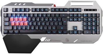 A4tech Bloody B2418 podsvícená herní klávesnice, USB, CZ, stříbrná barva