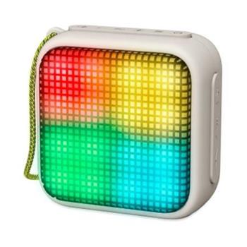 ENERGY Beat Box 2+ Lightcube Granite, přenosný BT reproduktor se světelnými efekty, MP3, FM rádio, audio vstup, 5W