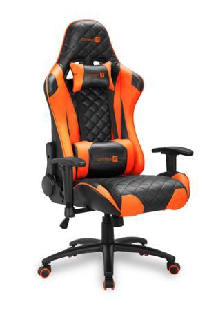 CONNECT IT Escape Pro herní křeslo, oranžové