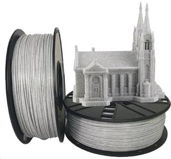 GEMBIRD Tisková struna (filament) GEMBIRD, PLA, 1,75mm, 1kg, mramor