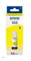 EPSON container T00S4 103 EcoTank Yellow ink bottle