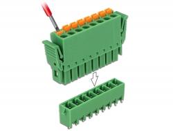 Delock Set svorkovnice pro PCB 8 pin rozteč 3,81 mm vertikální