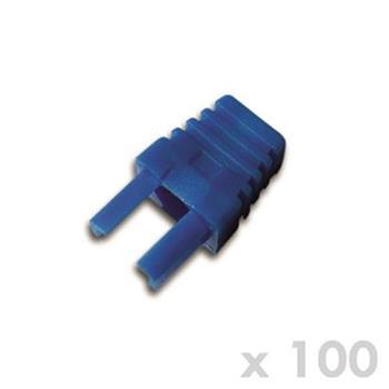 DATACOM Manžetka pro plug RJ45 modrá (100ks)