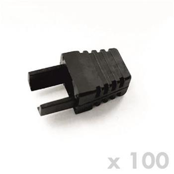 DATACOM Manžetka pro plug RJ45 černá (100ks)