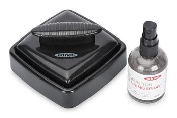 Ednet TV/monitor čistící sprej s čistící poduškou z mikrovlákna