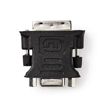 Nedis CCGB32900BK - DVI – VGA Adaptér | DVI-I 24+5-Pin Zástrčka - VGA Zásuvka | Černá barva