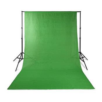 Nedis BDRP33GN - Pozadí do fotostudia | 2,95 × 2,95 m | Zelená