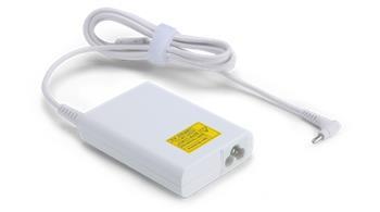 ACER napájecí zdroj 65W, 1.0×3.0 mm PHY - EU napájecí šňůra - bílý; tenký konektor; pro Chromebooky, AS V13, S7, Swift 1, Swift 3