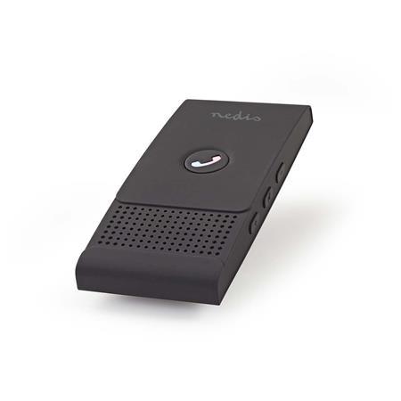Nedis CKIT100BK - Handsfree Sada do Auta | Bluetooth® | Až 2 Chytré Telefony | Max. 12 hodin Hovoru