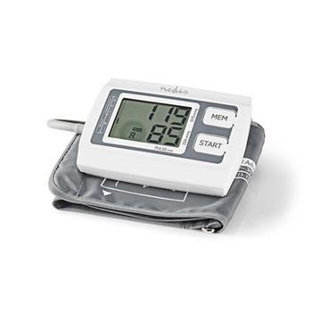 Nedis BLPR110WT - tlakoměr pažní | Velký LCD Displej | 2x paměťové úložiště