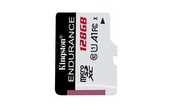 KINGSTON 128GB microSDHC Endurance 95R/30W C10 A1 UHS-I bez adapteru