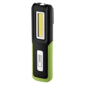 Emos LED svítilna nabíjecí P4530, 3W COB + 3W CREE LED, magnet, odolná