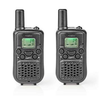 Nedis WLTK0500BK - vysílačka, 5 km, 2 ks