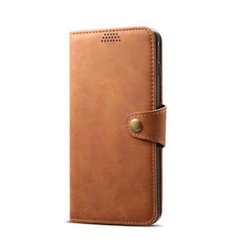 Lenuo Leather na iPhone 8/7 , hnědá