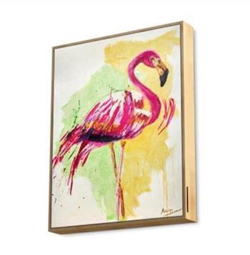 ENERGY Frame Speaker Flamingo, Výkonný reproduktor zasazený do exkluzivního plátna s dřevěným rámem