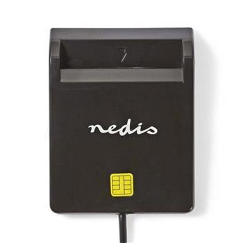 Nedis CRDRU2SM2BK - Smartcard reader | USB 2.0 | Black