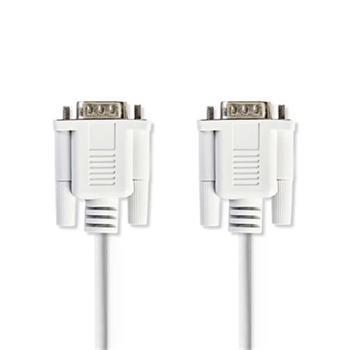 Nedis CCGP52000IV20 - Sériový Kabel | D-Sub 9-pin Zástrčka - D-Sub 9-pin Zástrčka | 2 m | Slonovinová