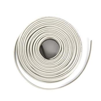 Nedis CCBGFTP6GY50S - Síťový kabel CAT6 F/UTP | Pevný - 50 m | Šedá barva