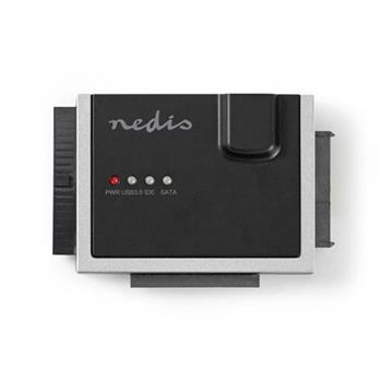 Nedis HDADIS100BK - Adaptér Pro Pevné Disky | USB 3.0 | 2,5 /3,5