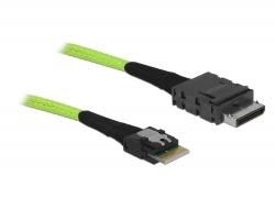 Delock Kabel OCuLink PCIe SFF-8611 > Slim SAS SFF-8654 0,5 m
