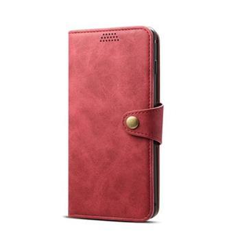 Lenuo Leather na Huawei P30 lite, červená