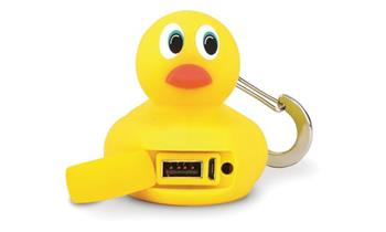 2-Power BUBS USB Power Bank- Yellow 2500mAh