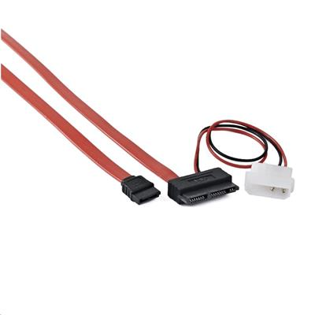 Kabel CABLEXPERT microSATA napájecí + datový combo