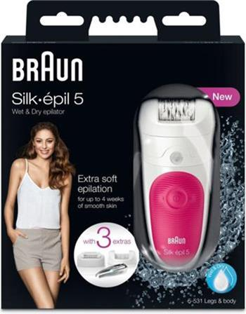 BRAUN Silk-épil 5-531 W&D