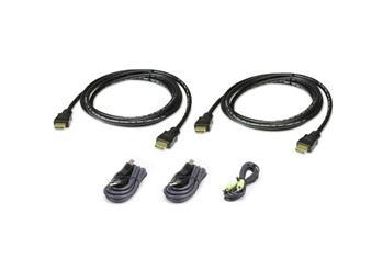 ATEN 1.8M USB HDMI Dual Display Secure KVM Cable Kit