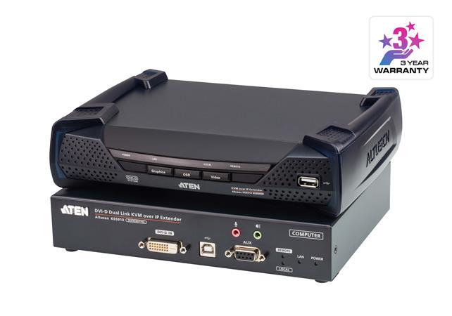 ATEN KE6910 DVI Dual Link KVM over IP Extender