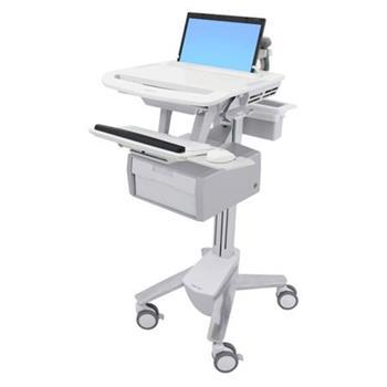 ERGOTRON StyleView® Laptop Cart, 1 Tall Drawer (1x1), vozík na ntb klávesnici a myš s vysokým šuplíkem