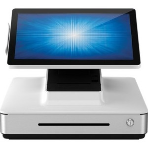 Elo PayPoint Plus, 39.6 cm (15,6'), Projected Capacitive, SSD, MSR, Scanner, Win. 10, bílá