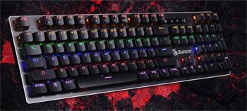 A4tech Bloody B760W mechanická RGB herní klávesnice podsvícená, USB, CZ