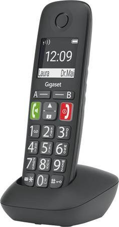 SIEMENS Gigaset E290HX - přídavné sluchátko vč. nabíječky, barva černá