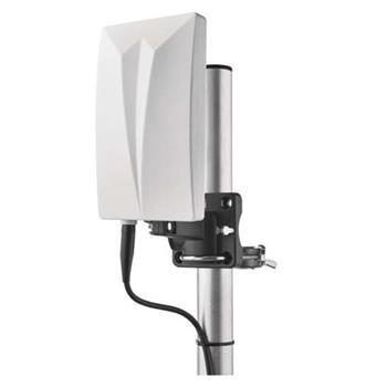 Emos anténa EM-711 - širokopásmová DVB-T2/T/DAB/FM anténa venkovní, aktivní, LTE filtr,