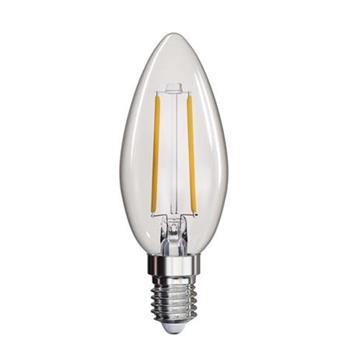 Emos LED žárovka CANDLE, 2W/25W E14, WW teplá bílá, 250 lm, Filament A++