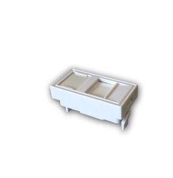 DATACOM Modul (45 x 22,5mm) do parapetní lišty s clonkou bílý