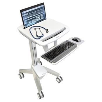 ERGOTRON StyleView® Laptop Cart SV41, multifunkční vozík se stolkem na NTB, LCD, klávesnici, myš